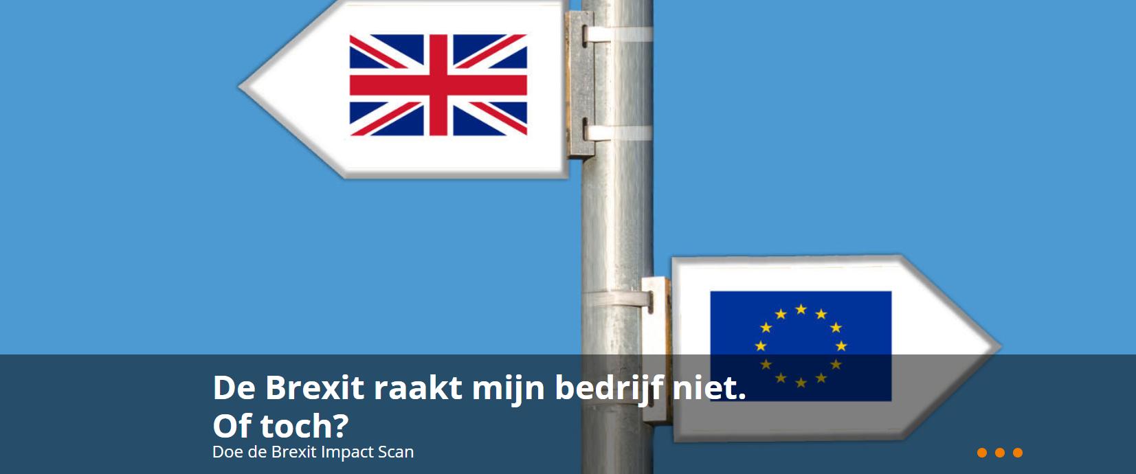 Doe hier de Brexit Impact Scan