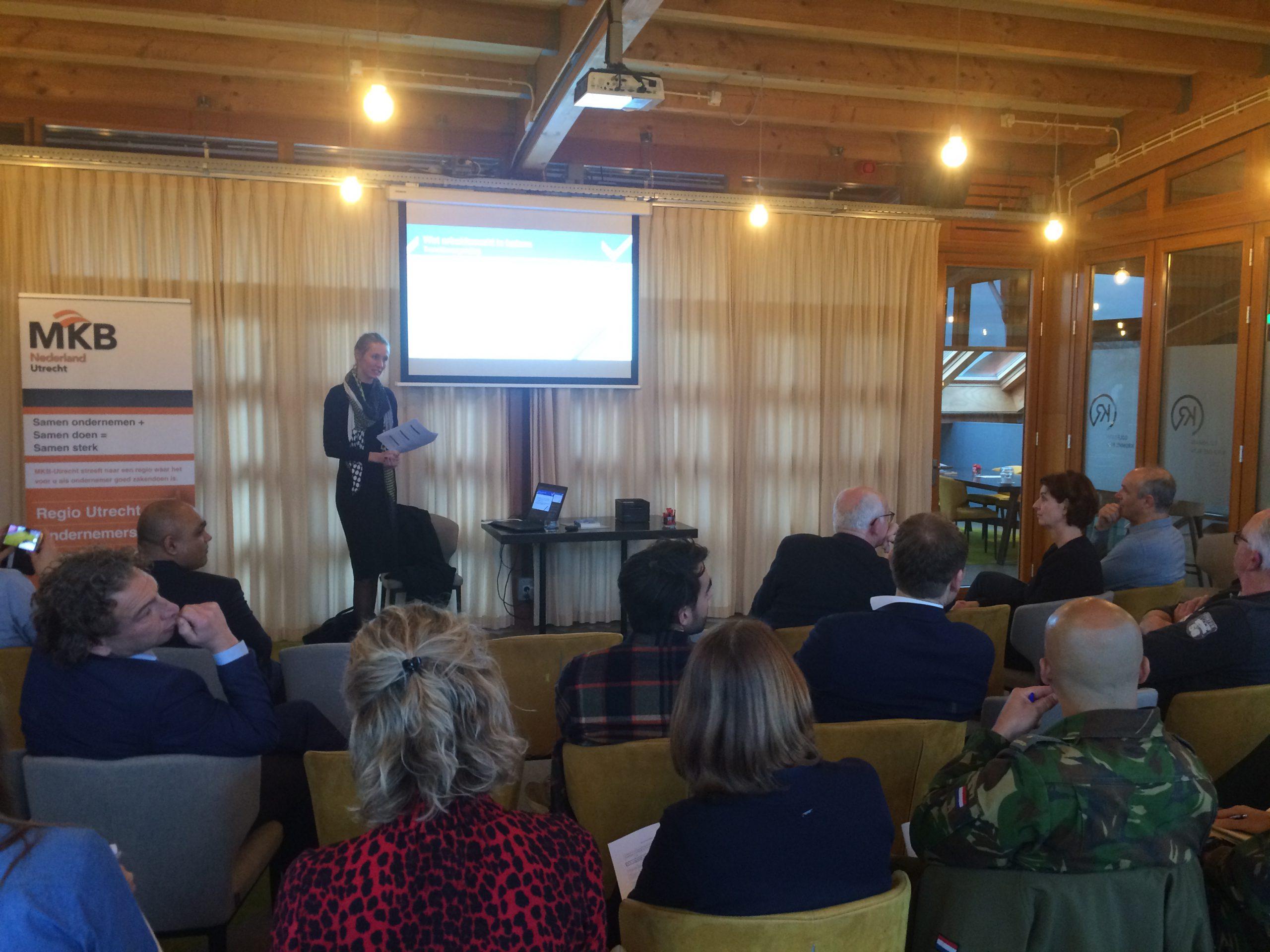 Terugkoppeling kennissessie over de 'Wet Arbeidsmarkt in Balans' op 20 januari 2020 in Bunnik